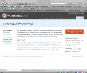WordPress Download Page